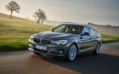 BMW lanseaza un facelift pentru modelul Seria 3 GT