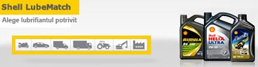 Shell LubeMatch - Alege lubrifiantul potrivit pentru masina ta