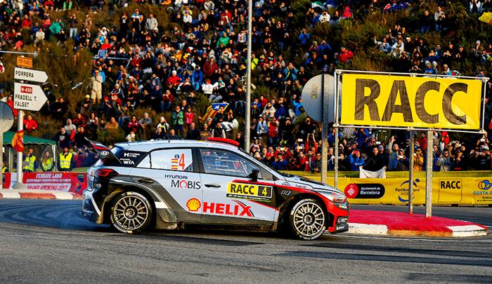 Rezultatele echipei Hyundai la Raliul Spaniei