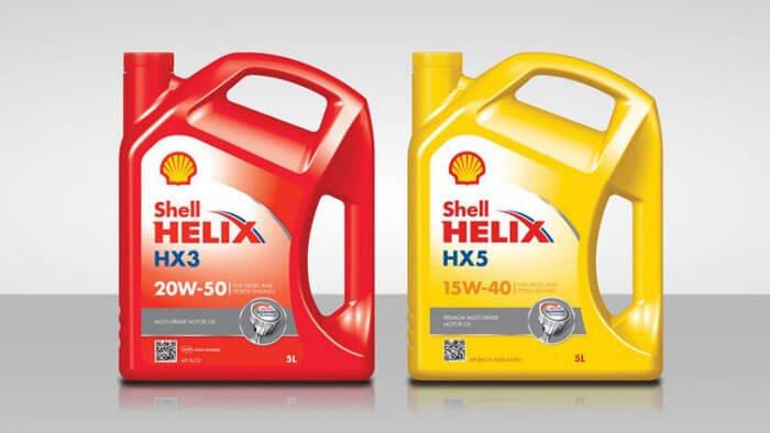 Uleiurile Shell Helix iti curata si iti protejeaza motorul
