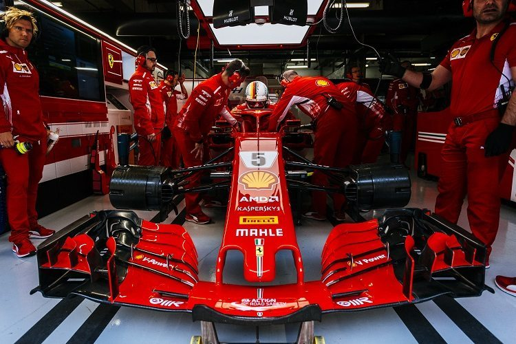 Vettel despre gumele folosite in Spania