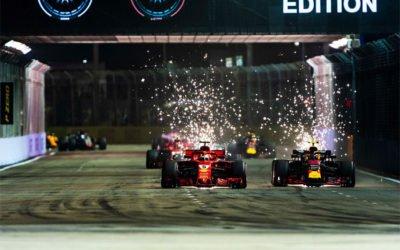 Formula 1 Singapore: Vettel incheie pe 3, Hamilton la al 3-lea succes din ultimele 4 curse